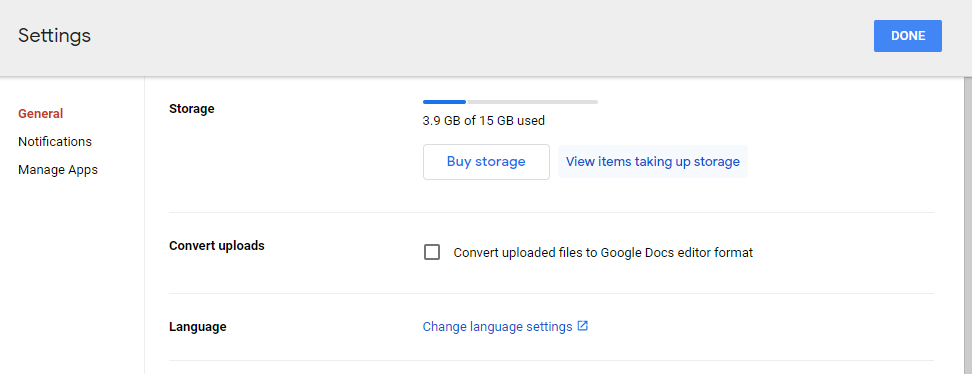 How to see folder size in Google Drive - ViewItems